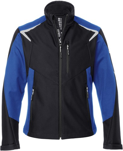 Kübler Bodyforce Ultrashell Werkjas Zwart/Blauw