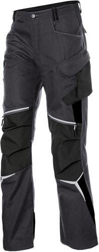 Kübler Bodyforce Werkbroek High Antraciet/Zwart