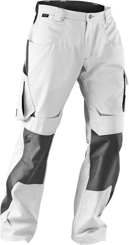 KÜBLER Pulsschlag Broek HIGH Katoen/Polyester Wit/Antraciet