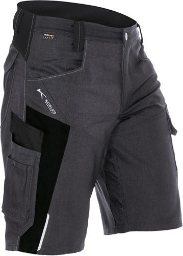 Kübler Bodyforce Short Antraciet/Zwart